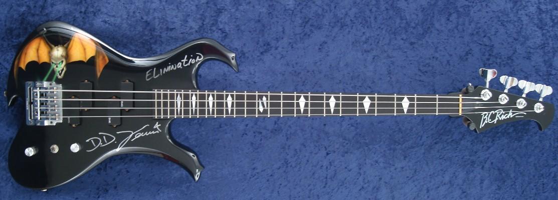 Overkill Dd Verni S Bc Rich 5 String Eagle